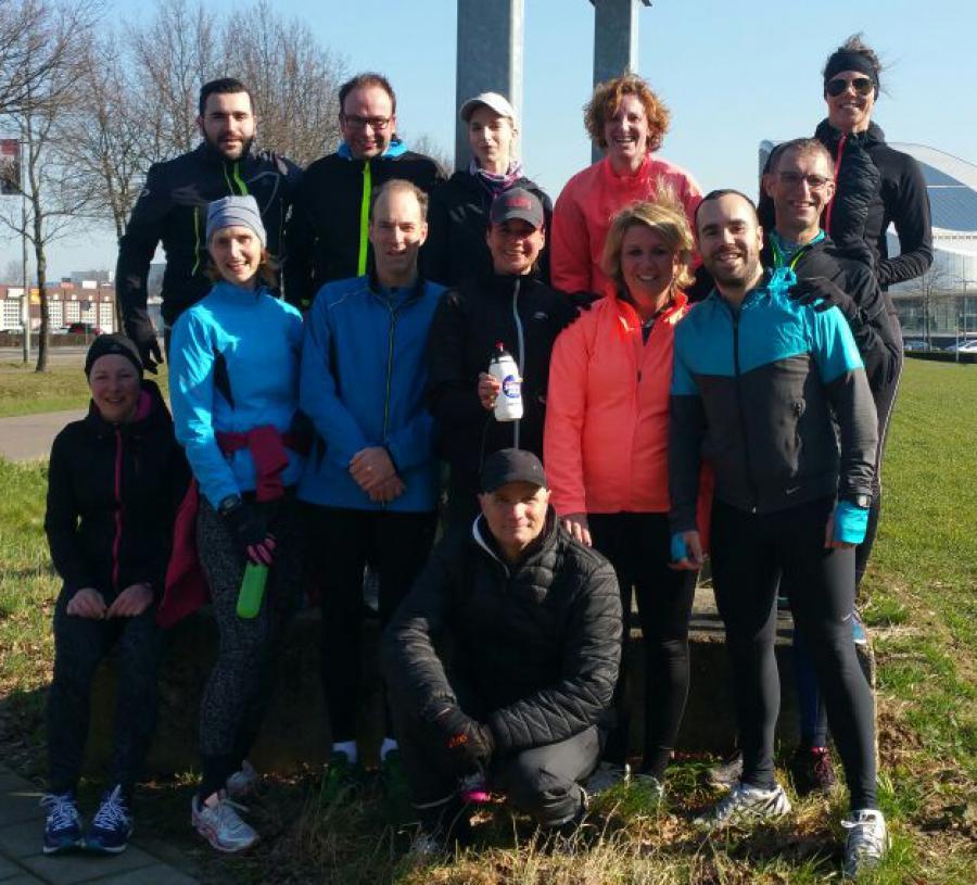 Zaterdag Loopgroep met Wil Dijkstra