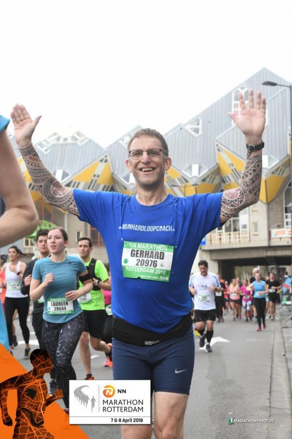 1/4 Marathon Rotterdam 2018